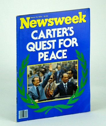 Image for Newsweek Magazine, March (Mar.) 18 1979: Carter's Quest for Peace / Cover Photo of Carter and Sadat Motorcade