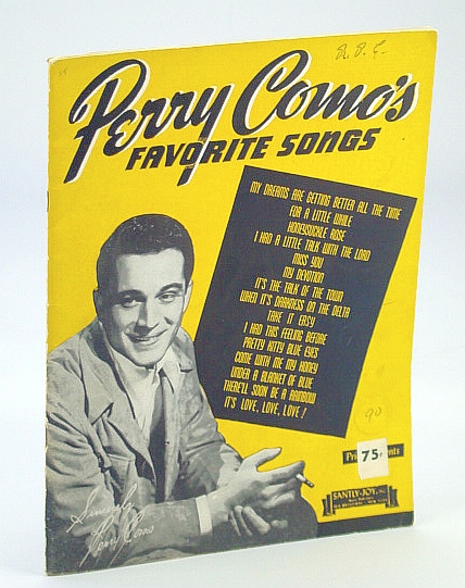"Perry Como....""Perry Como's Favorite Songs""....Songbook"