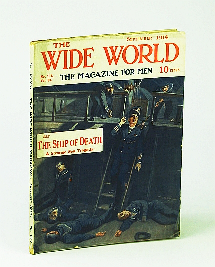 Image for The Wide World  - The Magazine For Men, September (Sept.) 1914, No. 197, Vol. 33 - Across Canada By Motor-Car (Part I)