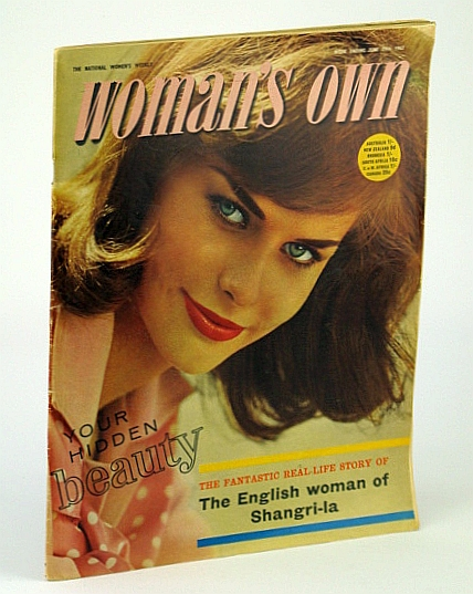 Woman's Own - The National Women's Weekly Magazine, 29 June 1963: Clara Hansen - The English Woman of Shangri-La / Teddy Tinling, Beresford, Elisabeth; Maltz, Maxwell; Duganne, Phyllis; Wheatley, Dennis; Dickens, Monica; Nichols, Beverley; Knox, Collie
