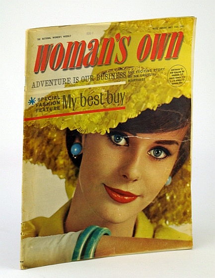 Image for Woman's Own - The National Women's Weekly Magazine, 13 July 1963: The Adventures of Pat and Glen Cottar in Kenya