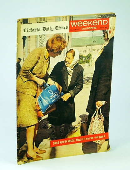 Weekend Magazine, December (Dec.) 3, 1966, Vol. 16, No. 49: When Miss Canada Was Pure, Plump and Proud / John Lennon Goes to War, Klyn, Doyle; Harrington, Michael Francis; O'Brien, Andy; Burns, Lt.-Gen. E.L. M.Scarlett, Robert W.; Smith, Philip; Oliver, Margo; Franklin, Stephen; McCracken, Melinda