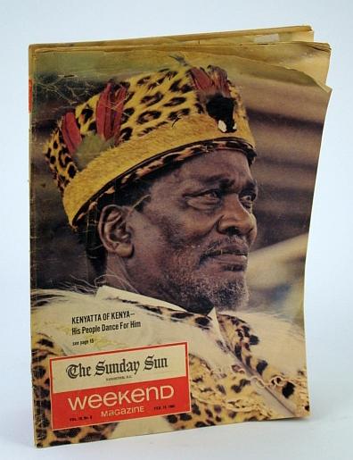 Image for Weekend Magazine, February (Feb.) 19, 1966 -  Jomo Kenyatta Cover Photo / Hockey Iron Man Andy Hebenton / Fashion Designer Mary Chang of Vancouver