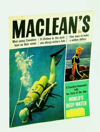Image for Maclean's - Canada's National Magazine, 21 October (Oct.)  1961 - Musical Prodigy Blair Milton