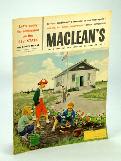 Image for Maclean's - Canada's National Magazine, 6 June, 1959: Sylvia Murphy / Ernest Thompson Seton