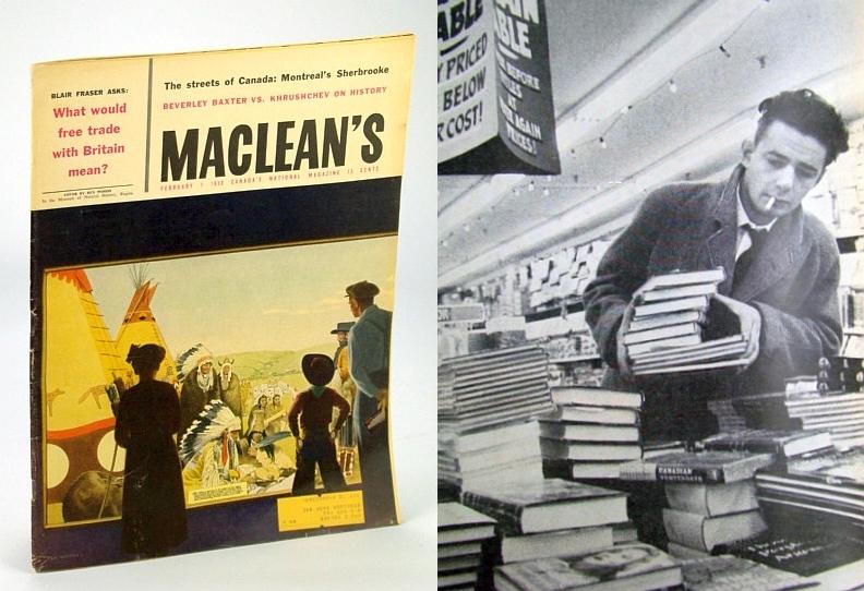 Maclean's - Canada's National Magazine, 1 February (Feb.), 1958: Mordecai Richler, Peterson, Phyllis L.; Richler, Mordecai; Fraser, B.; Croft, Frank; Corbett, Scott; et al