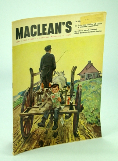 Image for Maclean's - Canada's National Magazine, 1 June 1952 - Brooke Claxton / Royal Dressmaker Hardy Amies