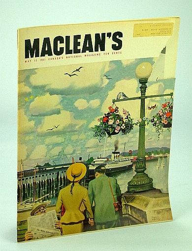 Image for Maclean's - Canada's National Magazine, 15 May 1951 - Why Wives Are Going Out to Work / Fred White - Toughest Man Afloat