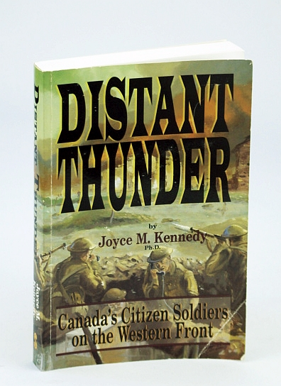 Image for Distant Thunder: Canada's Citizen Soldiers on the Western Front