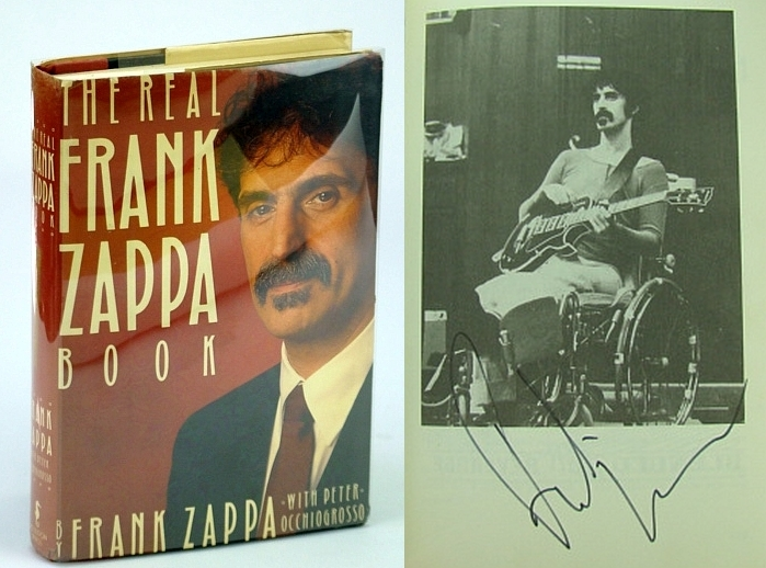 The Real Frank Zappa Book, Frank Zappa; Peter Ochiogrosso