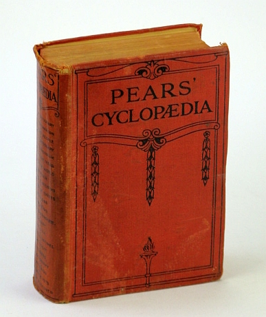 Image for Pears' Cyclopedia: Thirty-Eighth Edition