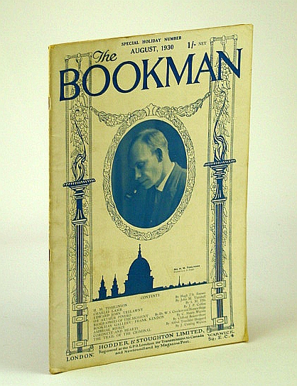 Image for The Bookman (Magazine), August (Aug.) 1930:  Frank Kendon / Manuscript Collecting / Garcilaso De La Vega / H.M. Tomlinson