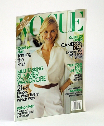 Image for Vogue (US), June 2009 - Cameron Diaz Cover