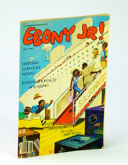 Ebony Jr.! (Junior), Volume 10, No. 1, May, 1982, Johnson, John H. (Editor); Lewis, Mary C.;  Marshall, Marilyn; Hurt, Orville