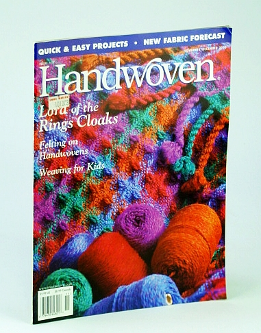 Image for Handwoven (Hand Woven) Magazine, November (Nov.) / December (Dec.) 2003 - Lord of the Ring Cloaks