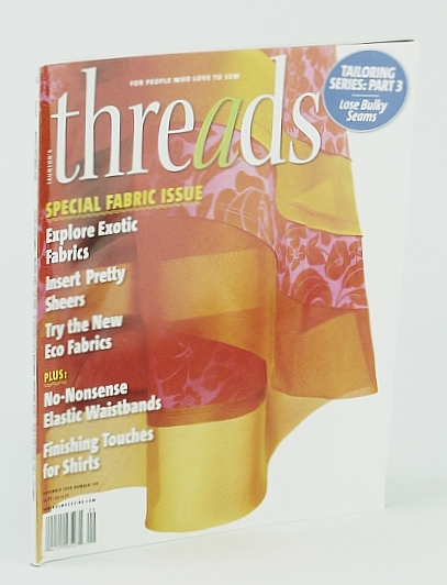 Image for Threads Magazine, August / September 2008, Number 138 - Tailoring Series, Part 3