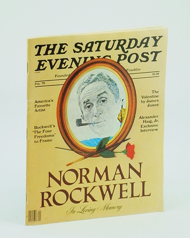 Image for The Saturday Evening Post, February (Feb.) 1979 - Norman Rockwell Memorial Issue