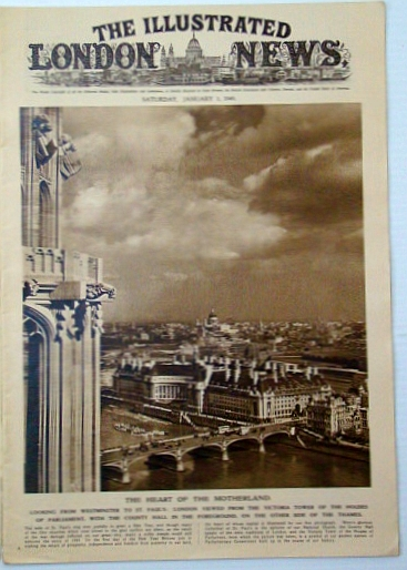 The Illustrated London News, Saturday, January (Jan.) 1, 1949: Historic Peking - An Objective in the Communist Drive in North China, Bryant, Arthur; Squire, Sir John; Falls, Cyril; et al