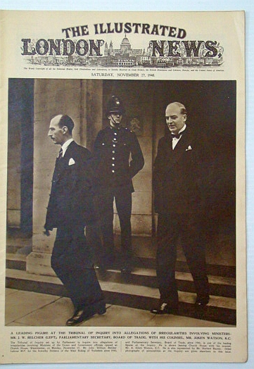 "The Illustrated London News, Saturday, November (Nov.) 27, 1948: Canada's New Prime Minister, Louis St. Laurent / U.S. Navy tests ""Salamander"" Remote-Controlled (Drone) Tank, Bryant, Arthur; Squire, Sir John; Falls, Cyril; et al"