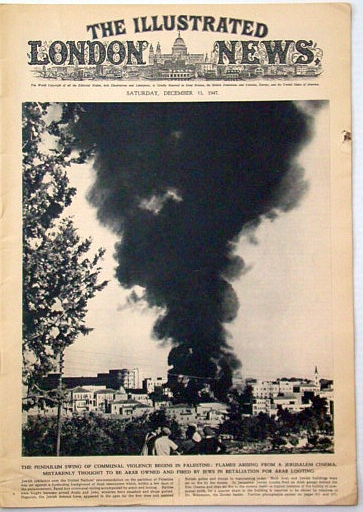 Image for The Illustrated London News, December 13, 1947: The Pendulum Swing of Communal Violence Begins in Palestine