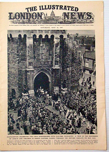 The Illustrated London News, May 10, 1947: Funeral of Denmark's Late Majesty King Christian X, Bryant, Arthur; Squire, Sir John; Falls, Cyril; et al