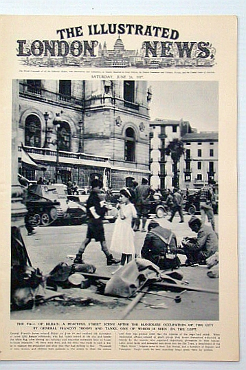 Image for The Illustrated London News, June 26, 1945: Aftermath of VE Day / Passing of Peter Pan Author, Sir James Barrie