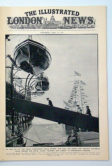 The Illustrated London News, May 29, 1945: Coronation Naval Review, Bryant, Arthur; Squire, Sir John; Falls, Cyril; et al