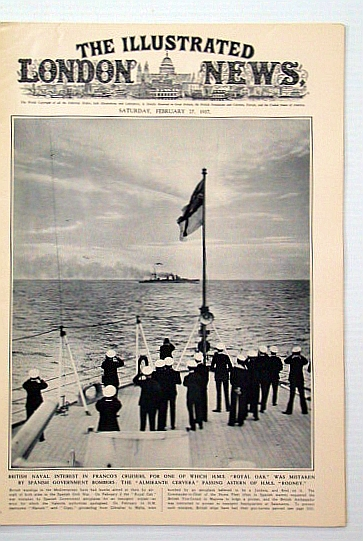 "The Illustrated London News, February 27, 1937: The Fall of Malaga / Combined Manoeuvre Prove Singapore ""Invulnerable"", Bryant, Arthur; Brown, Ivor; et al"
