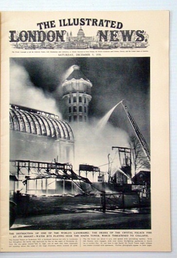 The Illustrated London News, December (Dec.) 5, 1936: Tragic End of the Crystal Palace / Assault on the Nanda Devi, Bryant, Arthur; et al