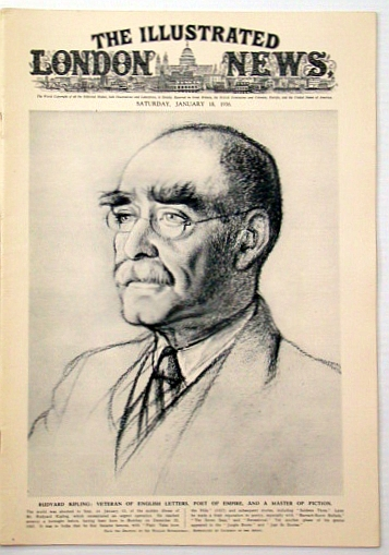 The Illustrated London News, January (Jan.) 18, 1936: Passing of Rudyard Kipling, Chesterton, G. K.; Et al