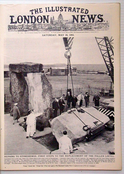 The Illustrated London News, May 16 1964 - Repairs to Stonehenge / New York World's Fair, Bryant, Arthur; Falls, Cyril; et al