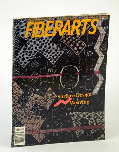 Image for Fiberarts Magazine, March / April (Mar. / Apr.) 1992, Vol. 18, No. 5 - Surface Design Weaving