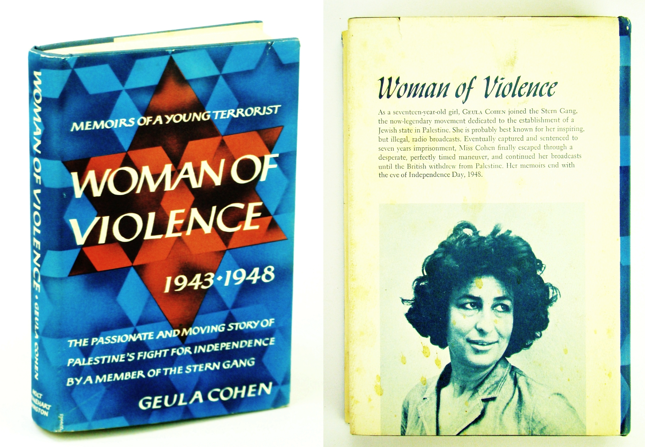 Woman of Violence: Memoirs of a Young Terrorist, 1943-1948