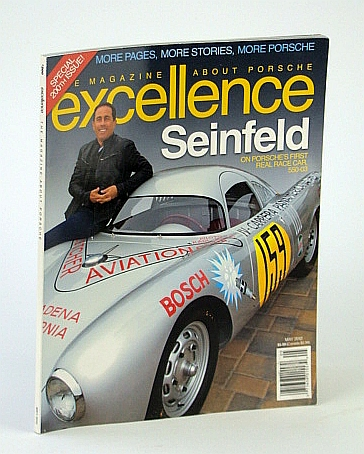 Excellence - The Magazine About Porsche, May 2012 - Jerry Seinfeld Cover Photo, Multiple Contributors