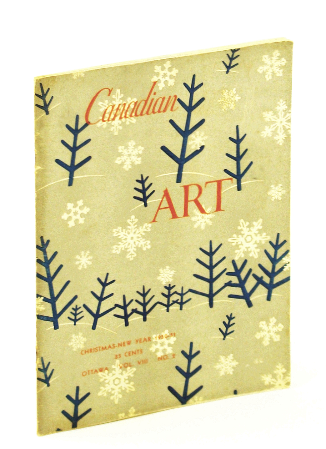 Image for Canadian Art [Magazine] - Fine Arts, Architecture, Graphic Arts, Design: Christmas - New Year 1950-51 [1951], Vol. VIII, No. 2  - Will Ogilvie / Robert Hurley