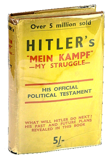 My Struggle. The Paternoster Library Number II, Hitler, Adolph