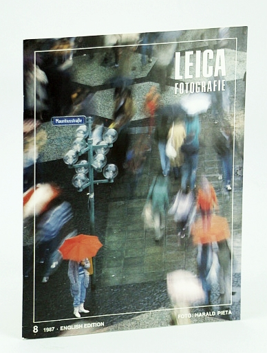 Image for Leica Fotografie - International Magazine for 35mm Photography: 8 / 1987 -  World Press Photo / John Robert Young / Erwin Lihotzky