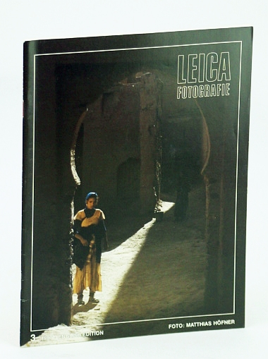 Image for Leica Fotografie - International Magazine for 35mm Photography: 3 / 1987 -  Fee Schlapper / The Leica R5 / Thomas Schadt