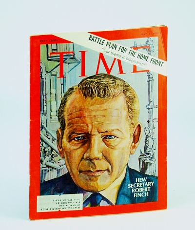 Time Magazine, May 2, 1969 - Robert Finch Cover / Beate Uhse, Multiple Contributors