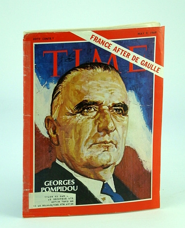 Time Magazine May 9 1969 Georges Pompidou, Time
