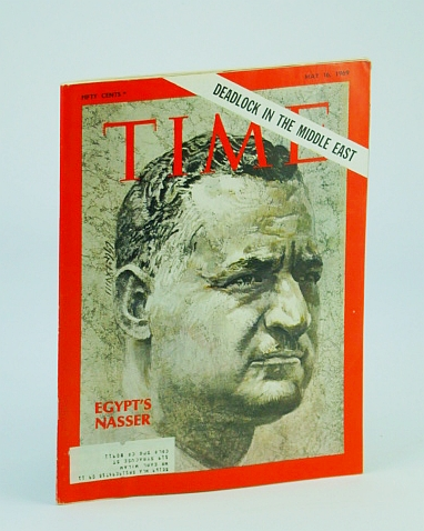 Image for Time Magazine, May 16, 1969 - Nasser Cover / Deadlock in the Middle East