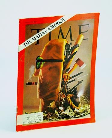 Time Magazine, August (Aug.) 22, 1969 - The Mafia Vs. America, Multiple Contributors