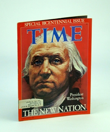Image for Time Magazine, September (Sept.) 26, 1976 - Special Bicentennial Issue / George Washington Cover