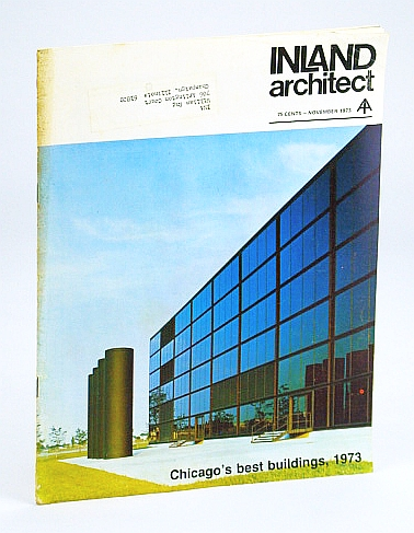Image for Inland Architect, Chicago Chapter, American Institute of Architects (AIA), November (Nov.) 1973 - Jacques Brownson's New Work in Denver