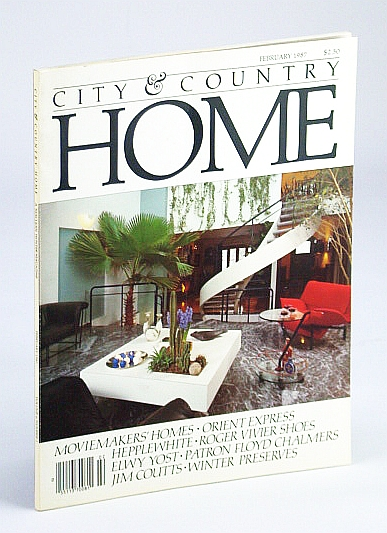 Image for City and Country Home Magazine, Febraury (Feb.) 1987 - Floyd S. Chalmers / John Maxwell / John Sebert / Robert Schulz