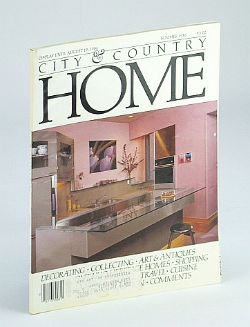 Image for City and Country Home Magazine, Summer / June 1986 - Cameron Porteous / Stately Family Home in St. Marys