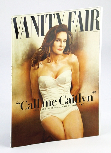 Vanity Fair Magazine, July 2015 - Caitlyn Jenner Cover Photo, Wolcott, James; et al