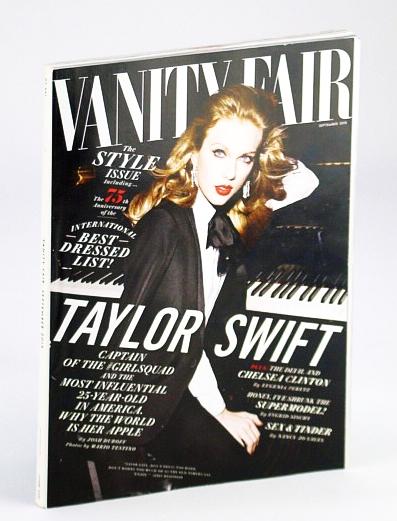 Vanity Fair Magazine, September (Sept.) 2015 - Taylor Swift Cover Photo, Duboff, Josh; et al
