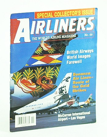 Image for Airliners Magazine, Nov/Dec (November / December) 2000, The World's Airline Magazine: McCarran International Airport