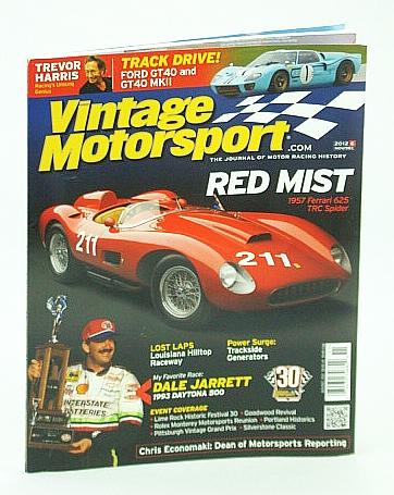Image for Vintage Motorsports Magazine, Nov/Dec (November / December) 2012: Trevor Harris